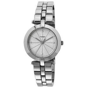 Timex TW2P79100 Elevated Women's Silver Steel Band